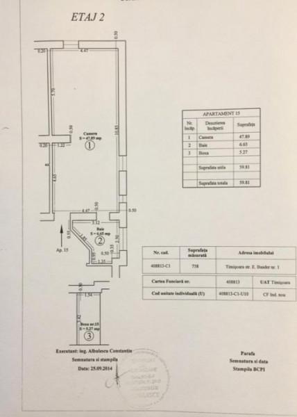Penthouse Take Ionescu - 187 mp   Comision 0%